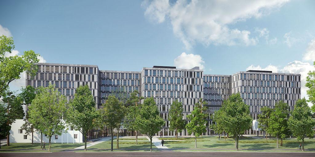 Deutsches architektur forum einzelnen beitrag anzeigen adickesallee campus frankfurt school - Mow architekten ...